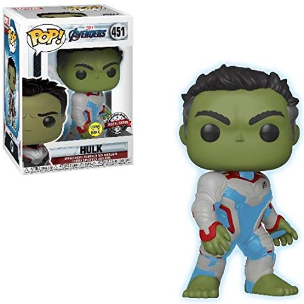 POP FUNKO- HULK GLOWS IN THE DARK