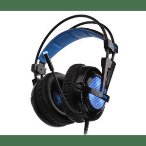 אוזניות SADES גיימינג דגם LOCUST SURROUND 7.1 למחשב
