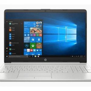 נייד HP 15 i5-1035G1 8GB 512 NVME 15.6 FHD WIN10 SILVER 1Y