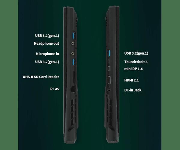 מחשב נייד AERO17.3 I7-10870H RTX3070Q-8G 32GB-2933 1TBPCIe W10Pro