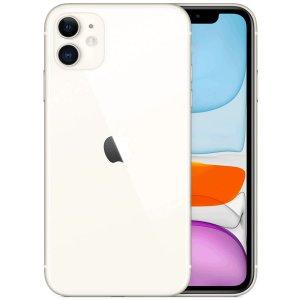 אייפון Apple iPhone 11 128GB בצבע לבן- שנה אחריות היבואן הרשמי